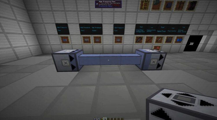 High Pressure Pipes Mod for Minecraft 1