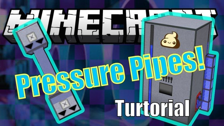 High Pressure Pipes Mod for Minecraft Logo