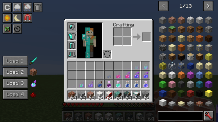 Just Enough Buttons Mod cho Minecraft 1