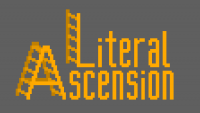 Literal Ascension mod for minecraft logo
