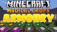 Magical Crops Armoury mod for Minecraft logo