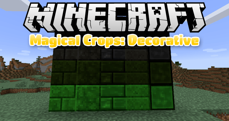 Magical Crops: Decorative Mod mod for minecraft logo