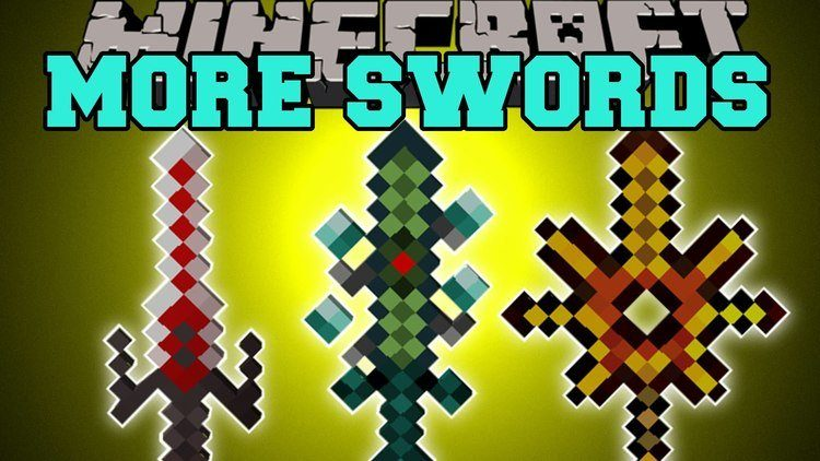 More Swords Mod for Minecraft Logo
