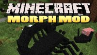 Morphing mod for Minecraft logo