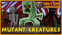 Mutant Creatures Command Block for Minecraft Logo