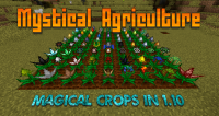 Mystical Agriculture mod for minecraft logo
