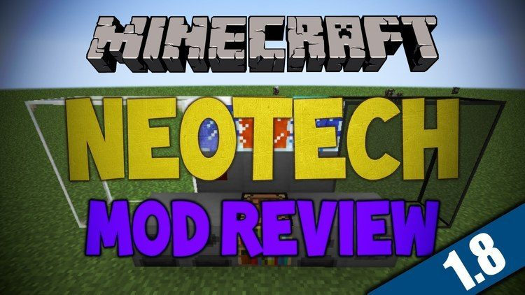 NeoTech mod for minecraft logo