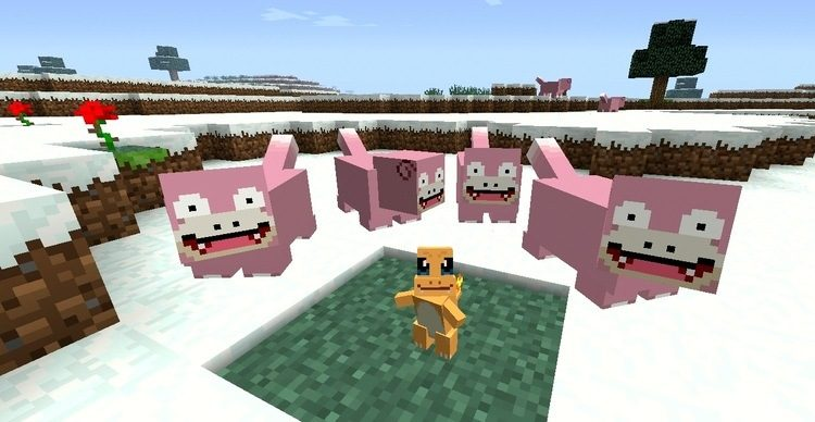 Pokecube mobs mod for minecraft 02