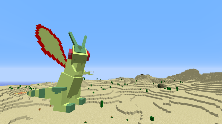 Pokecube mobs mod for minecraft 03
