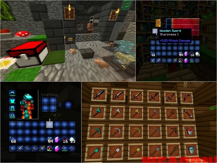 Pokemon GO PvP Resource Pack for Minecraft 2