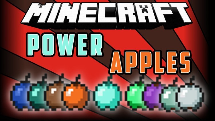 Power Apples mod for Minecraft logo