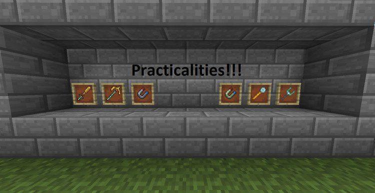 Practicalities mod for Minecraft 01