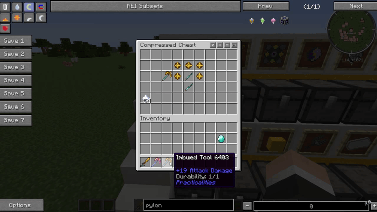 Practicalities mod for Minecraft 02