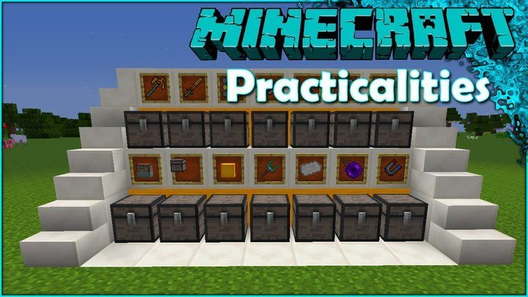 Practicalities mod for Minecraft logo