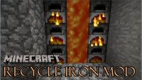 Recycle Iron Mod for Minecraft Logo