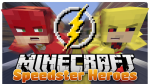 Speedster Heroes Mod for Minecraft logo