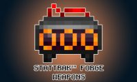 Stat-Trak Forge Weapons Mod for Minecraft Logo