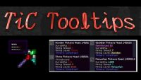 TiC Tooltips Mod for Minecraft Logo