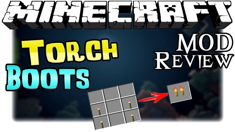 Torch Boots Mod for Minecraft Logo