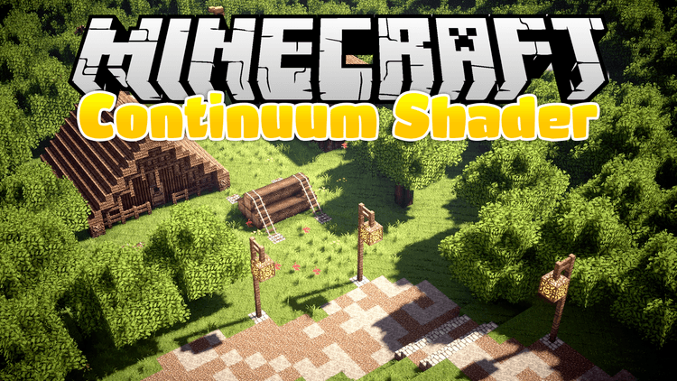 continuum shaders mod for minecraft logo