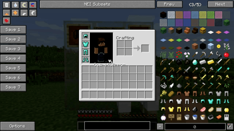 cosmetic armor mod for minecraft 02