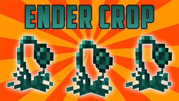 ender crop mod for minecraft logo