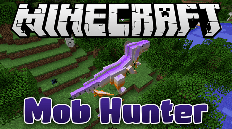 mob hunter mod for minecraft logo