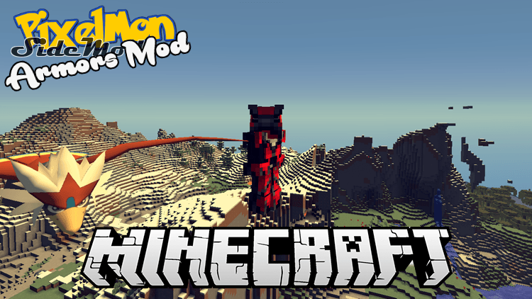 pixelmon armors mod for minecraft logo