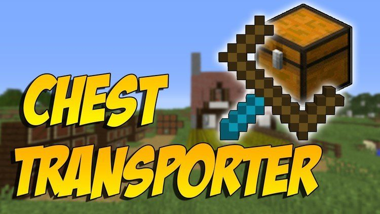 Chest Transporter Mod cho Minecraft Logo