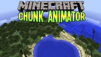 Chunk Animator Mod for Minecraft Logo