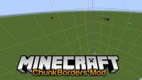 ChunkBorders Mod for Minecraft Logo