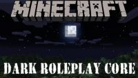 Dark Roleplay Core Mod for Minecraft Logo