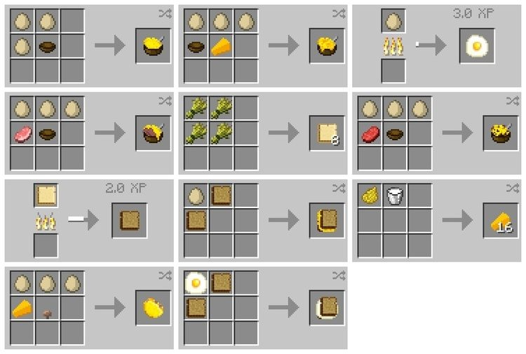 Eat The Eggs Mod for Minecraft 1