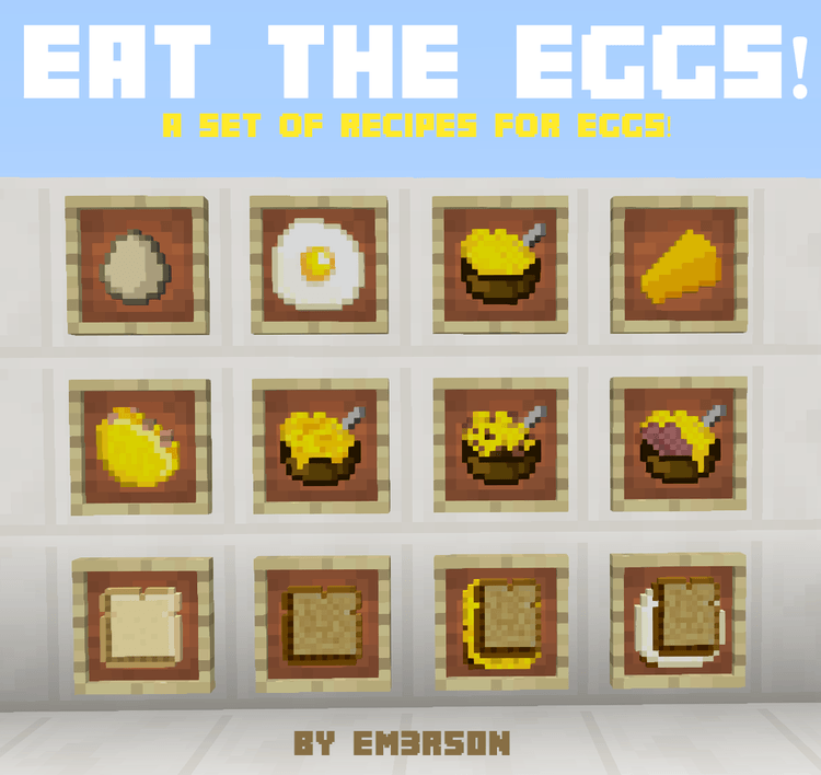 Eat The Eggs Mod for Minecraft 2