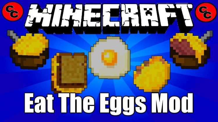 Eat The Eggs Mod for Minecraft Logo