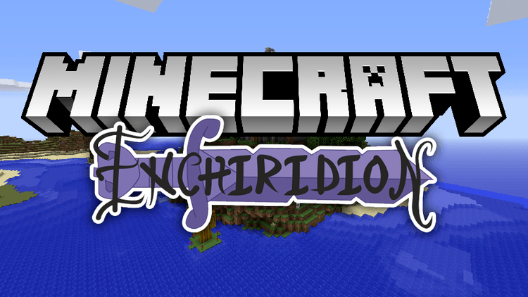 Enchiridion mod for minecraft logo