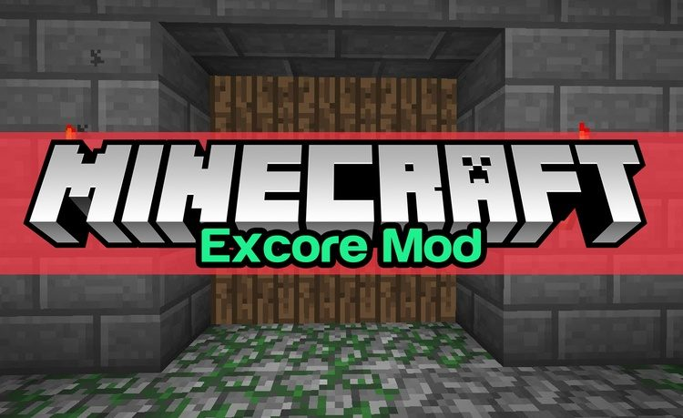Excore Mod for Minecraft Logo