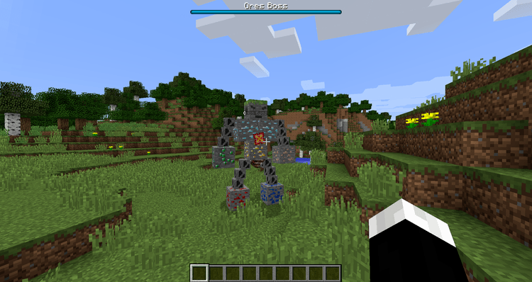 Fake Ores 2 mod for minecraft 01