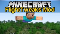 FlightTweaks Mod for Minecraft Logo