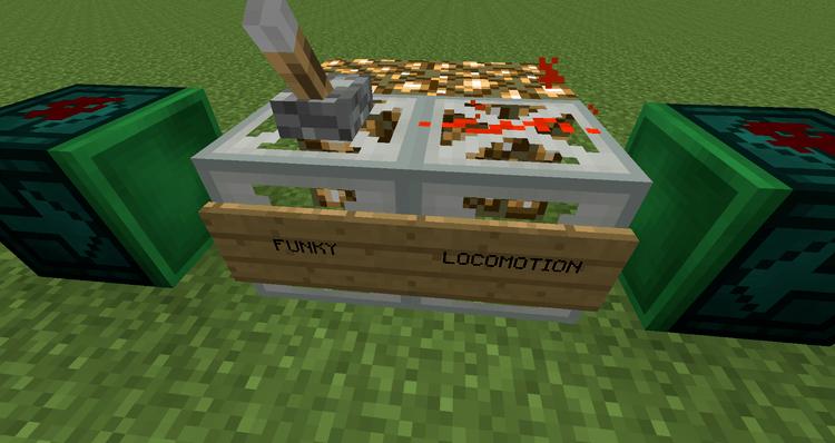 Funky Locomotion Mod for Minecraft 3