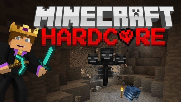 Hardcore Wither Mod for Minecraft Logo