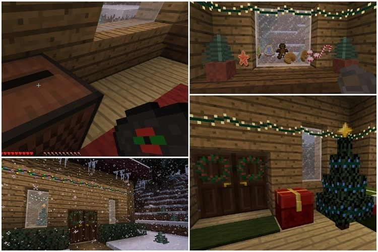 Joshuas Christmas Mod for Minecraft 1