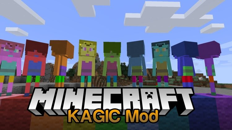 KAGIC Mod for Minecraft Logo