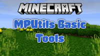 MPUtils Basic Tools mod for minecraft logo