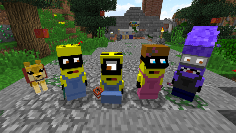 Minions Mod for Minecraft 1