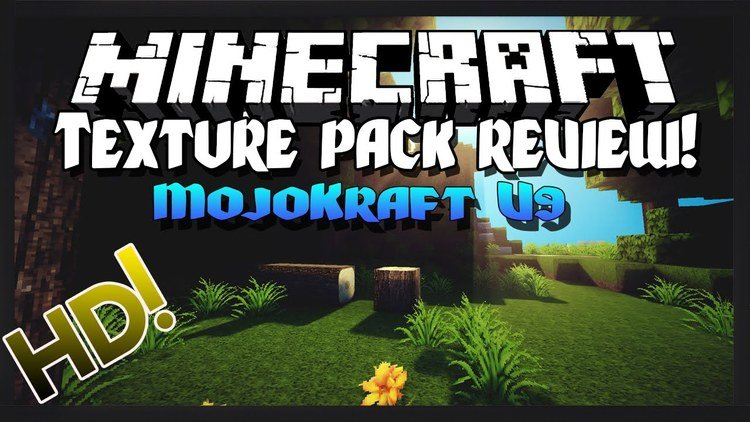 MojoKraft HD Realism Resource Pack Logo