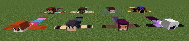 Player Rugs Mod for Minecraft 1