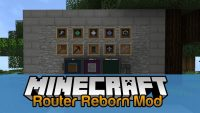 Router Reborn Mod for Minecraft Logo