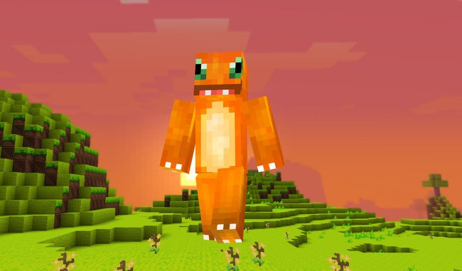 Skin Pokemon Charmander 2