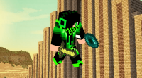Skin Green Creeper Boy 2